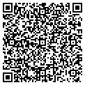 QR code with B & R Lawn Care contacts