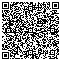 QR code with B & R Apartments contacts