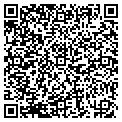 QR code with A & A Fabrics contacts