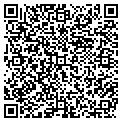 QR code with J & V Wallcovering contacts