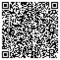 QR code with J & M Sign Service contacts