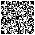 QR code with J & B Movers contacts