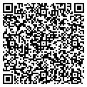 QR code with C & P Delivery contacts