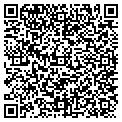 QR code with P V S Associates Inc contacts