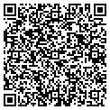 QR code with D & J Properties contacts