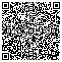 QR code with P & J Import Export Intl contacts