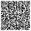 QR code with R & F Dental Office contacts