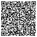 QR code with P & D Printing & Design Inc contacts