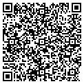QR code with R & J Flowers Inc contacts