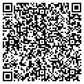 QR code with D & T Constructors of Florida contacts