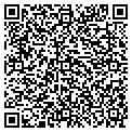 QR code with B K Marine Construction Inc contacts