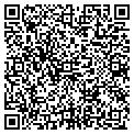 QR code with B & B's Bakeries contacts
