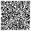 QR code with R & R Service contacts