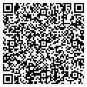QR code with R & R Fencing contacts