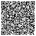 QR code with S & D Landscaping & Irrigation contacts