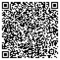 QR code with K & D Produce contacts