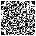 QR code with C & J Video contacts