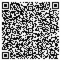 QR code with C & H Baseball & Metals Inc contacts