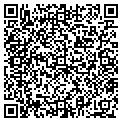 QR code with B & P Racing Inc contacts