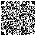 QR code with S & P Logging contacts