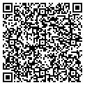 QR code with B & D Towing & Recovery Inc contacts