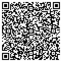 QR code with B & F Electric of Tampa Inc contacts