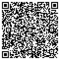 QR code with B & B Marble Inc contacts