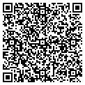 QR code with D B R Hollywood Inc contacts