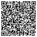 QR code with B & D Pack & Ship contacts