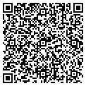 QR code with C R Caudel PE contacts
