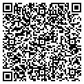 QR code with D & G Occasions contacts