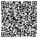 QR code with D & T Fundraising contacts