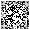 QR code with B & D Diamonds Enterprises contacts