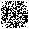 QR code with L & L Fabric Fence & Stakes In contacts