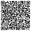 QR code with B & S Custom Works contacts