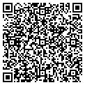 QR code with B & S Pump Service contacts
