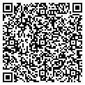 QR code with M&M Wallcoverings & Blinds contacts