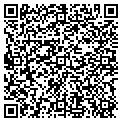 QR code with B & R Accounting Service contacts