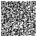 QR code with H & C Tampa Inc contacts