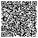 QR code with All Stars South Glass Window contacts