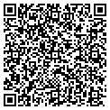 QR code with C & R Graphics contacts