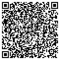 QR code with D & A Auto Care contacts