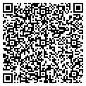 QR code with P & D Printing Inc contacts