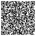 QR code with J & M Lawn Care Inc contacts