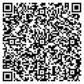 QR code with H & S Taxidermy Studio contacts