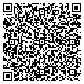 QR code with A H The Sewing Studio contacts