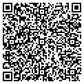 QR code with L V B's Hair Salon contacts