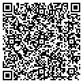 QR code with B & D Aluminum contacts