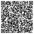 QR code with M & N Plastics Inc contacts