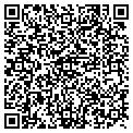 QR code with B M Marine contacts